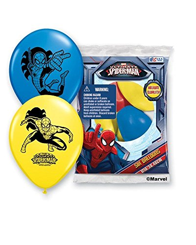 SPIDER-MAN Balloons Birthday Decorations Party Supply Favors Prizes Bag Fillers