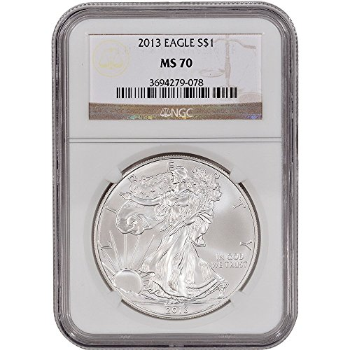 2013 American Silver Eagle $1 MS70 NGC