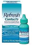 Refresh Contacts Contact Lens Comfort Drops, 0.4 Fluid Ounces (12 ml)