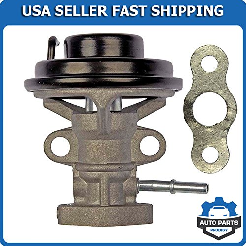 Gas Plug Valve (EGR Exhaust Gas Recirculation Valve w/Gasket Fits 1997-2001 Toyota Camry 99-01 Solara 98-00 RAV4 4-Cylinder Engine & Automatic Transmission Models Only Replaces 25620-74330)