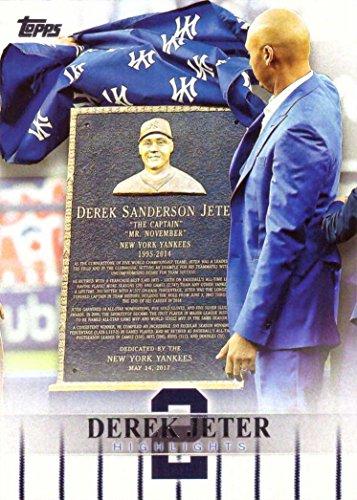 Amazon.com  2018 Topps Target Derek Jeter Highlights  DJH-22 Baseball Card  - Yankees Jersey Number 2 Retired on May 14 0c5801ba5b5