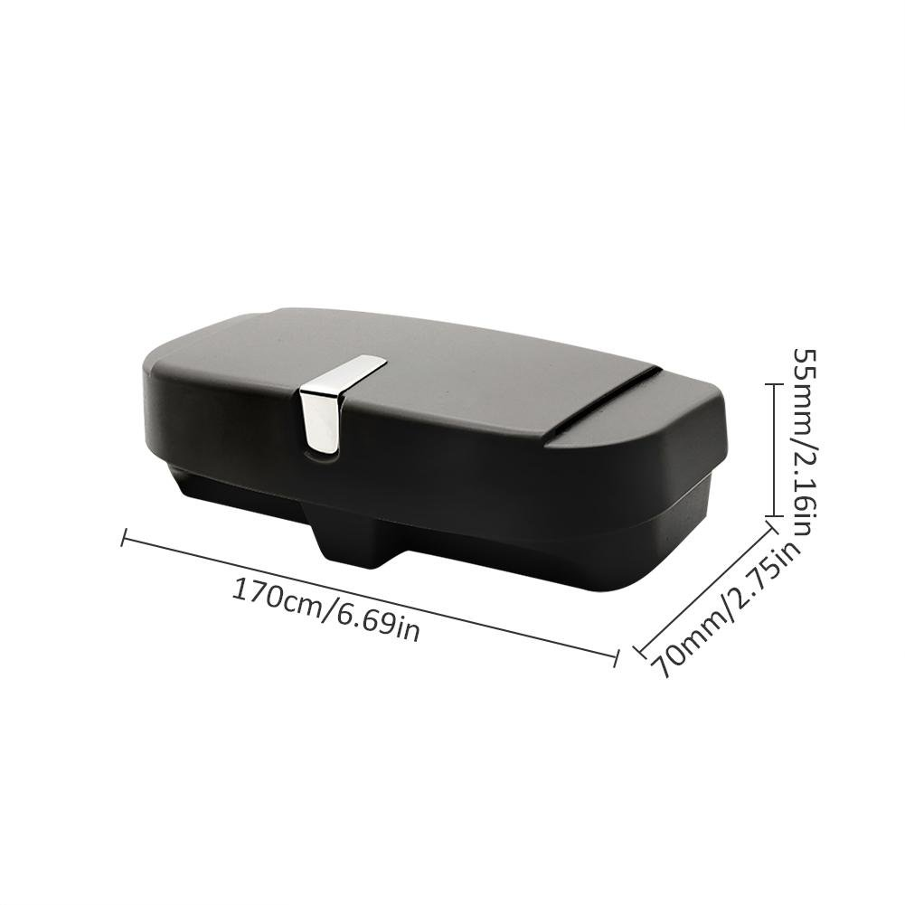 Easy-topbuy Parasol de Coche Clip/ /Caja de Almacenamiento para Gafas de Sol Funda Coche Universal Gafas Soporte