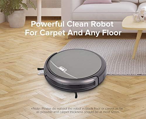 WUAZ Robot Aspirador de succión de Gran Alcance para Thin ...