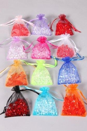 590e4816bdd 100 Organza Bags Wedding Favour Bags By WeddingDirect.com