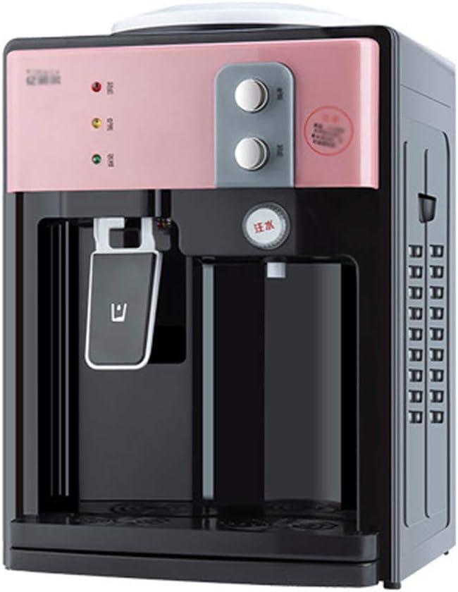 refrigeratore per acqua in bottiglia contro freddo Macchina ad acqua istantanea elettrica ad alta capacit/à da tavolo Dispenser acqua calda // fredda perfetta per uffici e sale riunioni con conteni