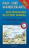 Rad- und Wanderkarte Boltenhagen, Klützer Winkel: Mit Kalkhorst, Redewisch, Wohlenberg, Damshagen, Rolofshagen. Maßstab 1:30.000. Wasser- und reißfest.