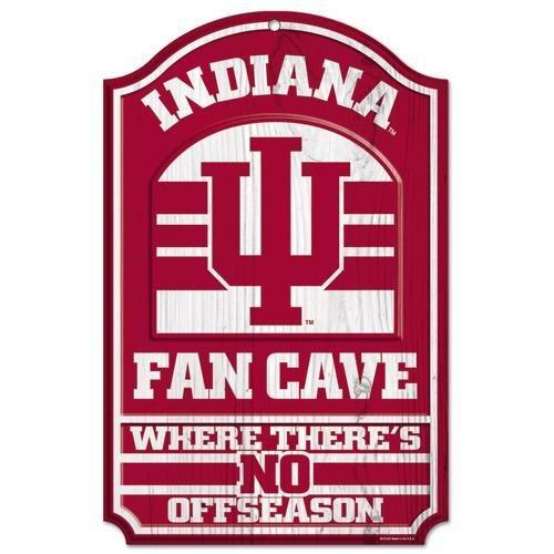 WinCraft NCAA Indiana University 81909012 Wood Sign, 11
