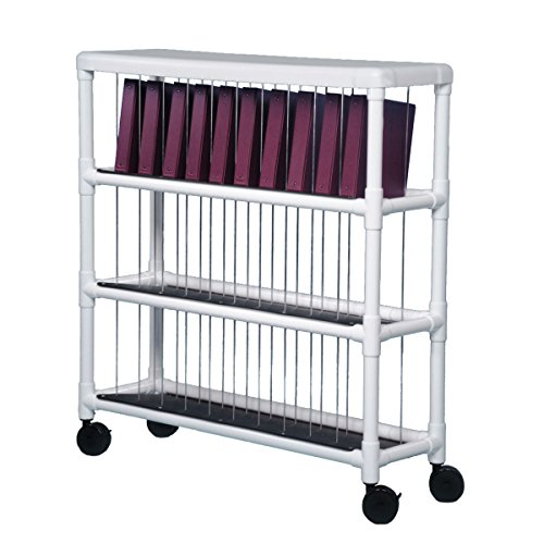 - Notebook Chart Rack - Holds 30 Ring Binders