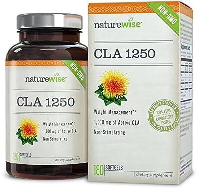 NatureWise CLA 1250 Weight Management Supplement