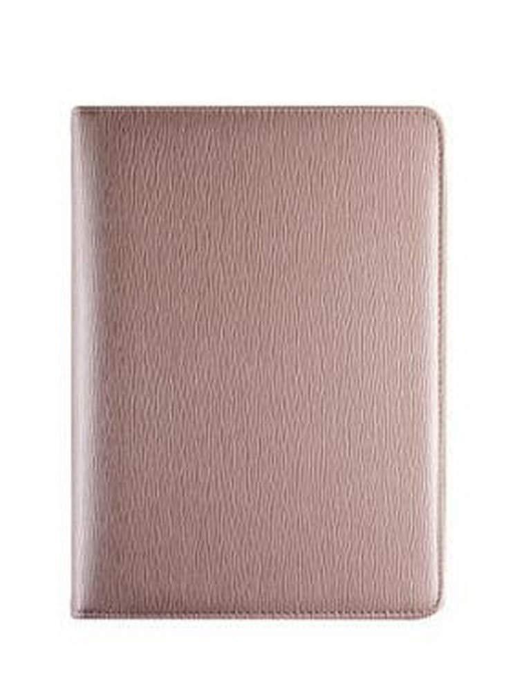Zipper Seal Notepad A5 Business Notebook Office Meeting Record Book Bookmark Memorandum Built-in Calculator and Card Slot (Color : D)