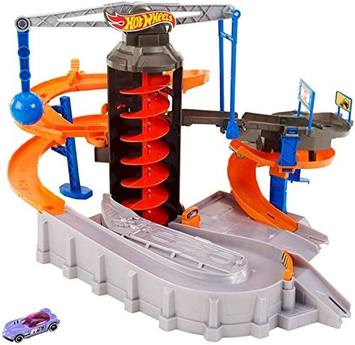 Hot Wheels Construction Zone Chaos Play Set