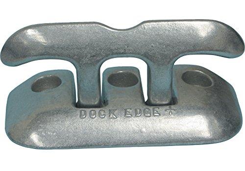 Aluminum Dock Cleat - Dock Edge Flip Up Aluminum Dock Cleat, 8-Inch