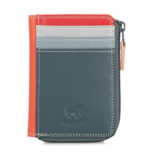 Mywalit Purse Wallet ID Holder Zippered Leather Style 334 by mywalit