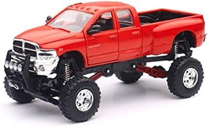 New Dodge Ram Truck >> New Ray Toys Inc Dodge Ram Hemi 3500 4x4 Pickup Truck Raised W Working Suspension