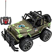 ECCRIS Remote Control Army Off Road Extreme Terrain Jeep Vehicle Toy Truck Car , Camouflage