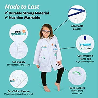 Born Toys Disfraz de científico Completo para niños de Entre 5 y ...