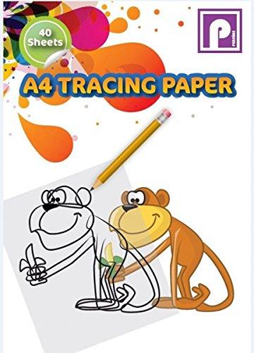 Multi-Colour A4 Pennine Tracing Paper Pad