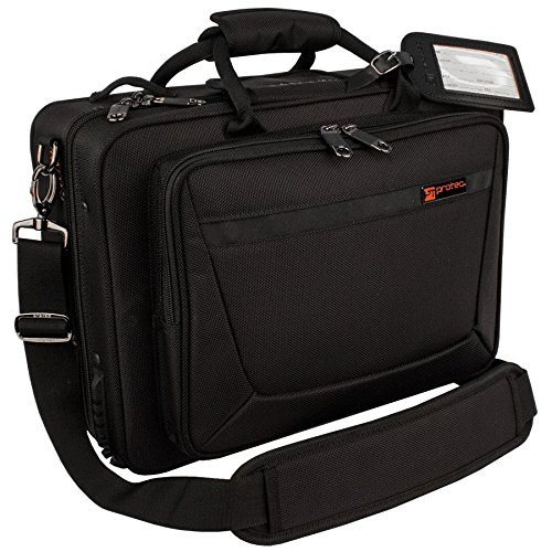 Protec Bb Clarinet Carry-All PRO PAC Case with Interior Sheet Music Compartment and Accessory Compartments, Model PB307CA