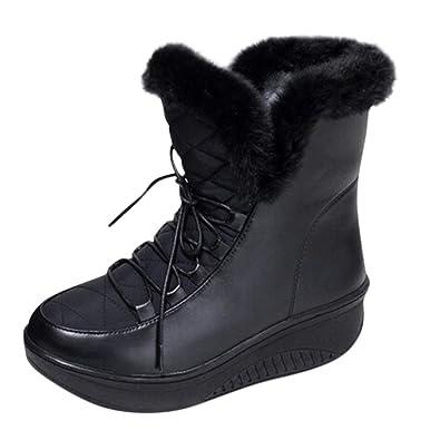 e7ba72cdcf84cc TTLOVE 2018 Schnür-Plattform Schnee Stiefel kurz Stiefel Stiefel Paradise  Damen-Stiefel Größe Paradies
