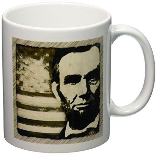 3dRose President Abraham American 11 Ounce