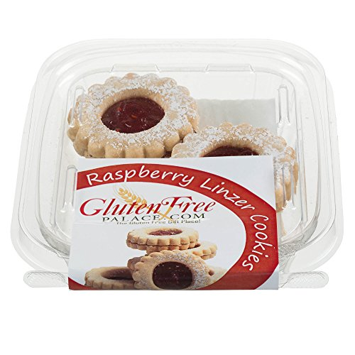- Gluten Free Palace Linzer Cookies With Raspberry Jam, 2 Oz Pack [3 Pack] Gluten Free Cookies, Dairy Free Cookies, Nut Free Cookies, Kosher Gluten Free Dairy Free Snacks