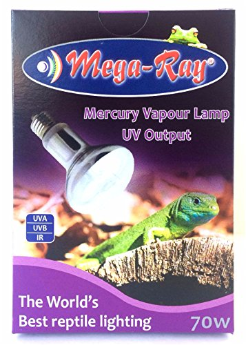 Mega Ray Mercury Vapor Bulb Smallest