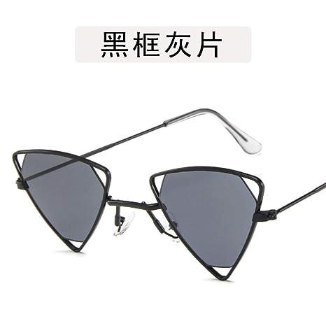 Gafas De Sol Triángulo Mujer Gafas De Sol Vintage De Lujo De ...