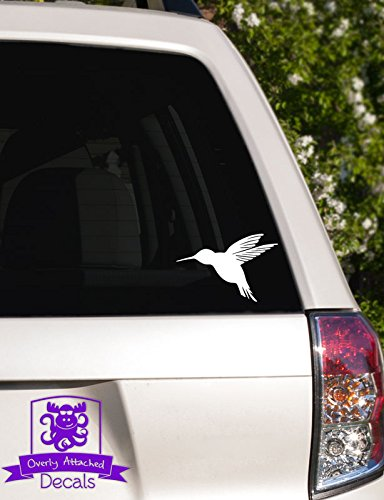 Humming Bird In Flight Vinyl Decal
