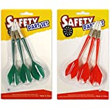 ActionDarts - Soft Tip Safety Darts and Dart Board - Great Games for Kids - Leisure Sport for Office