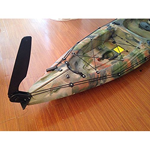 ROSENICE Glass Fiber Watercraft Kayak Boat Rudder (Black)