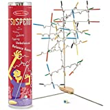 """Melissa & Doug Suspend Family Game, Classic Games, Exciting Balancing Game, Develops Hand-Eye Coordination, 12.5"""" H x 2.8"""" W x 2.8"""" L"""