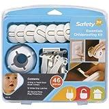 Safety 1st Essentials Baby Proofing Kit, 46 Piece