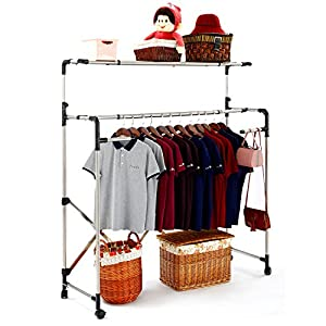 Laundry Drying Rack Heavy Duty For Clothes - SUNPACE SUN001 Rolling Collapsible Sweater Folding Clothes Dryer Rack For Outdoor And Indoor Use