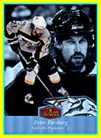 2007-08 Ultra Flair Showcase #47 Peter Forsberg nashville predators