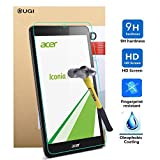 ACER ICONIA ONE B1-770 screen protector, KuGi ® Ultra-thin 9H Hardness High Quality HD clear Premium Tempered Glass Screen Protector for ACER ICONIA ONE B1-770 tablet (1 pcs)