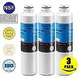PurePlus DA29-00020B Refrigerator Water Filter Replacement for Samsung DA29-00020B, DA29-00020A, HAF-CIN/EXP, 46-9101 [3 Pack]