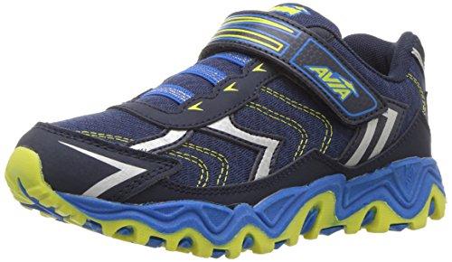 Avia Boys' Avi-Force Running Shoe, True Navy/Brilliant Bl...