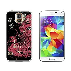 New Style Asian Carp Fish Catfish Design - Snap On Hard Protective Case for Samsung Galaxy S5 - White