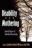 Disability and Mothering, Cynthia Lewiecki-Wilson and Jen Cellio, 0815632843
