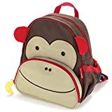 "Zoo Toddler Backpack Marshall Monkey, 12"" School Bag,"