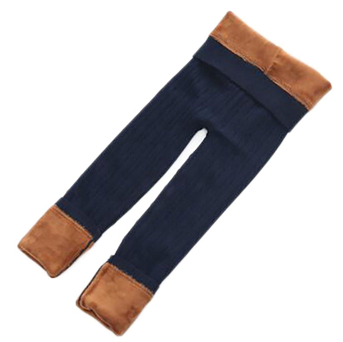 Joe Wenko JWK Girls Stretchy Cable Knit Solid Winter Fleece Lined Leggings Pants