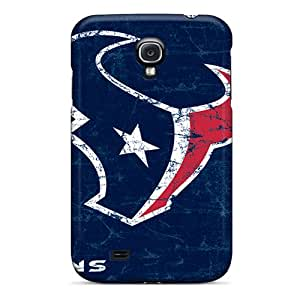 Galaxy S4 Hard Back With Bumper Silicone Gel Tpu Case Cover Houston Texans