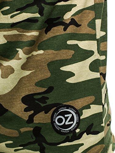 Sans chemise Ozonee manches Débardeur Imprimé Green Débardeur T Madmext shirt Sous Shirt 1323 Débardeur Gilet Muscle Fitness ozonee o2684 Hommes 0N8wOPkXn