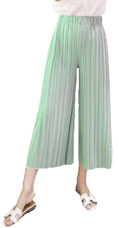 Zago Women's Vogue Breathable Pleated Elastic Straight Pants