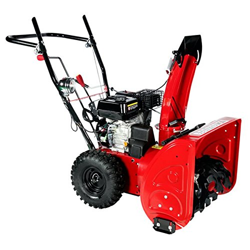 AMICO AST24 196cc Two Stage Gasoline Engine Snow Blower/T...