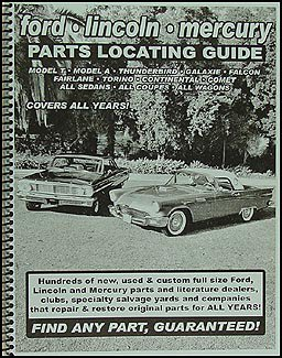 Find ANY Lincoln or Continental Mark Part with Parts Locating Guide ()
