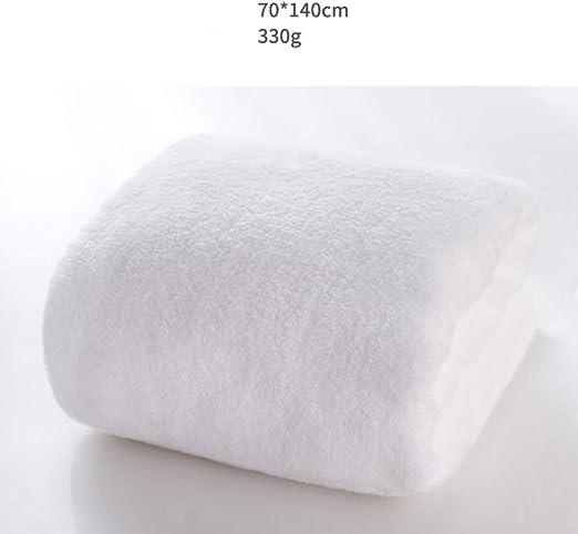 Toalla de baño, Toallas Grandes Blanco Algodón Grueso Absorción de ...