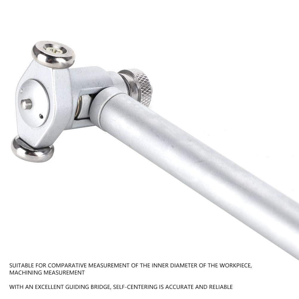 内径量表50-160 Messuhr-Bohrungsmessger/ät Innendurchmesser-Messger/ät Aluminiumlegierung Hochgenaues Messwerkzeug 50-160 mm f/ür Vergleichsmessungen