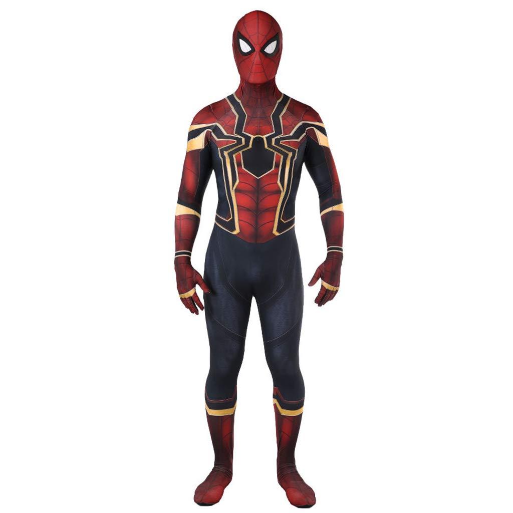 Entrega rápida y envío gratis en todos los pedidos. rojo Medium NDHSH Avengers Spiderman niño niño niño Adulto CosJugar Disfraces Disfraz Mono Traje Fiesta de Halloween Fiesta de Disfraces Fiesta Disfraces Regalo,rojo-M  precioso