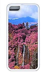 Cases For iPone 5C - Summer Unique Cool Personalized Design The Garden Kingdom